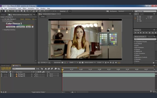 Do Professional Cinematic Video Editing with Color Grading & Sharpness