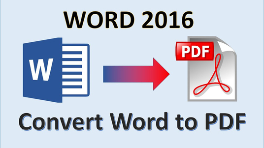 I will Convert Word to Pdf or Pdf to Word