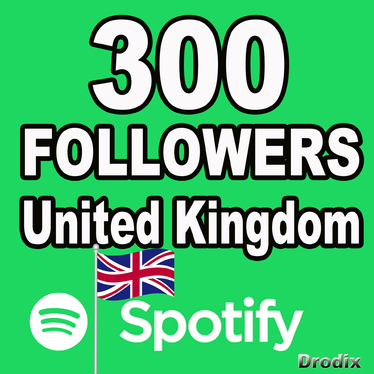 Give You 300 Spotify Followers - United Kingdom