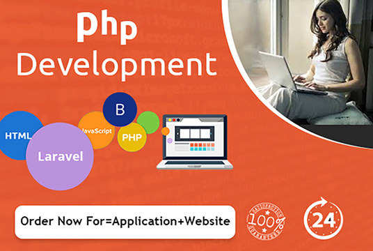 I will Develop PHP Website And Application