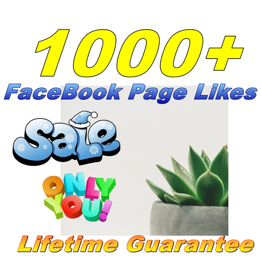 I will Provide You Real 1000 FaceBook Fan Page Likes Lifetime Guarantee