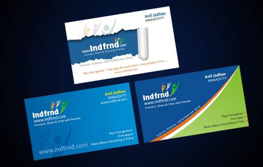 I will create custom business card design