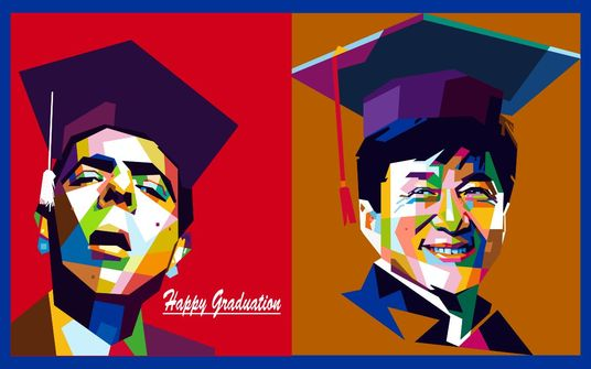 I will draw your photo into graduation wpap style