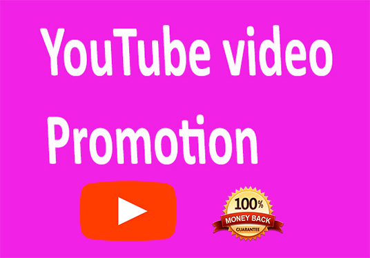 I will do YouTube video Promotion and marketing