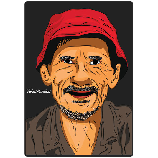 I will Draw Your Amazing Cartoon Portrait with vector style