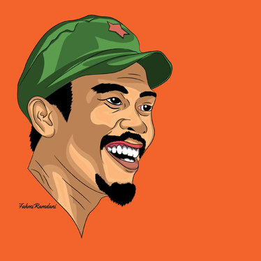 Draw Your Amazing Cartoon Portrait with vector style