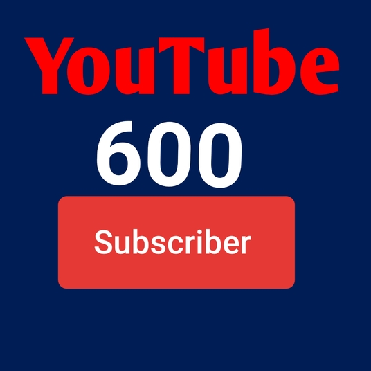 I will add real 600  Youtube subscribers to your channel