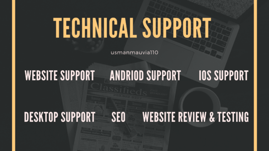 Provide You Technical Support