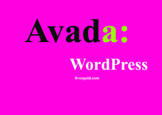 design and customize your web page with Avada Theme