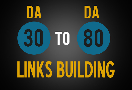 I will build 100 DoFollow Backlinks and 10 high PR backlinks with 30 - 80 DA & PA