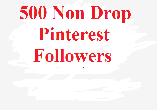 I will give you 500 pinterest followers