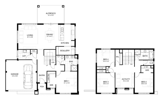 Draw Architectural Floor Plan in AutoCAD
