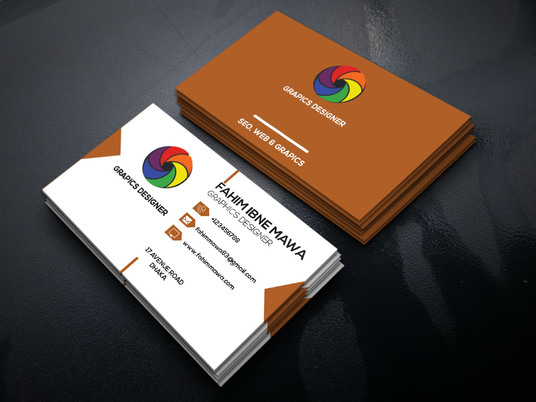 I will design a business card for you within 1 days