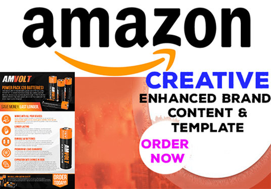 I will Create Amazon Enhanced Brand Content, Ebc, Template