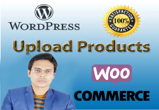 I will Upload Products Manually To Any E-commerce Website