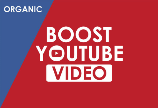 I will Organic YouTube Video Promotion