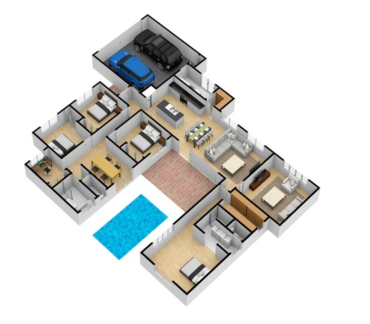 I will Redraw Floor Plan For Real Estate Agents, Property Manager