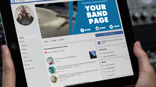I will make a Facebook video header for bands and musicians