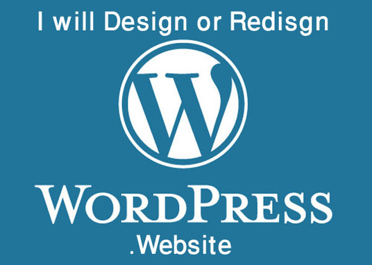 I will design or redesign WordPress website
