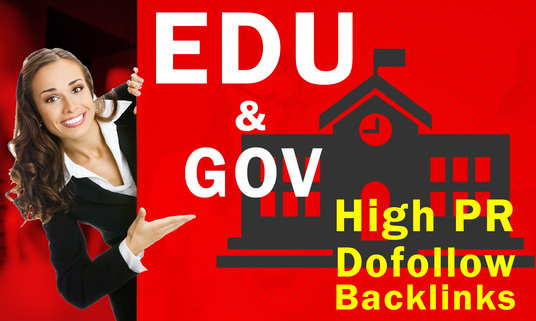 Provide 20. EDU or . GOV high authority backlinks