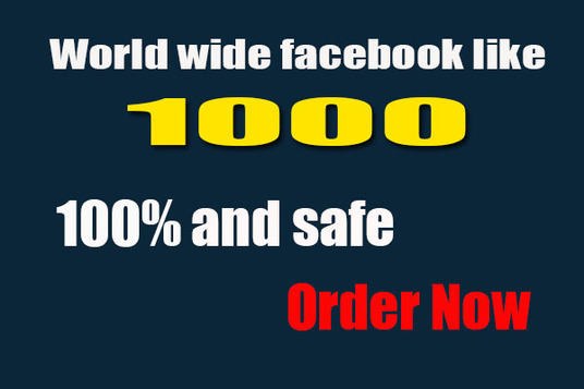 I will Do HQ Active Facebook likes