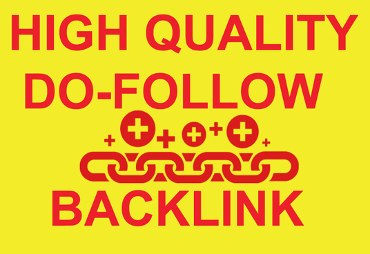 I will Create 100  Dofollow  Links for your website To Rank High