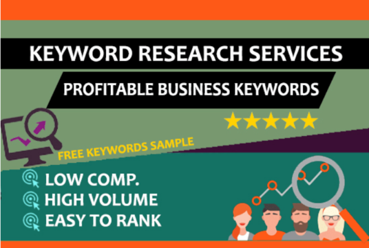 do SEO Keywords Research and Competitors Analysis