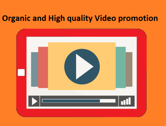 I will Promote Your YouTube Video Organically to provide you more than 1000 Views