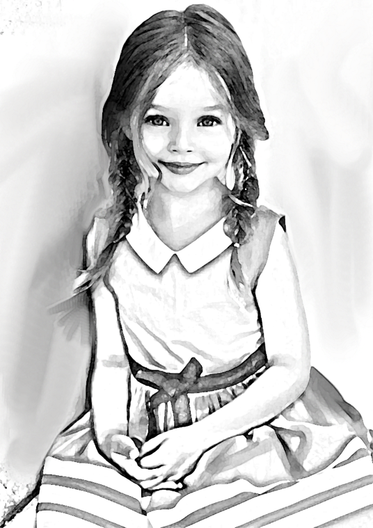 I will draw a great pencil sketch from your photo
