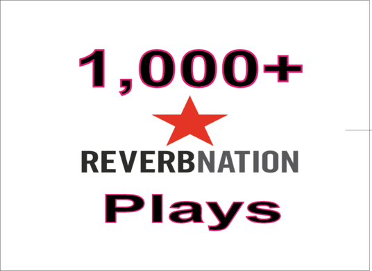 I will Add 1,000+ Reverbnation Song Plays Real High Quality & Non Drop Guarantee