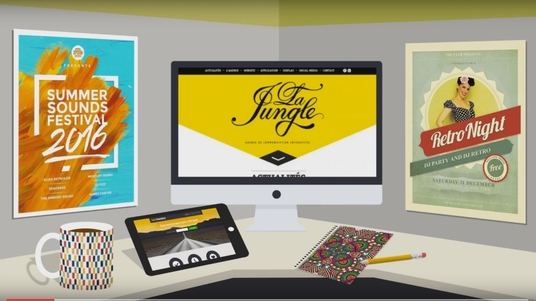 make a mock up video for your print, graphic design, artwork or branding business
