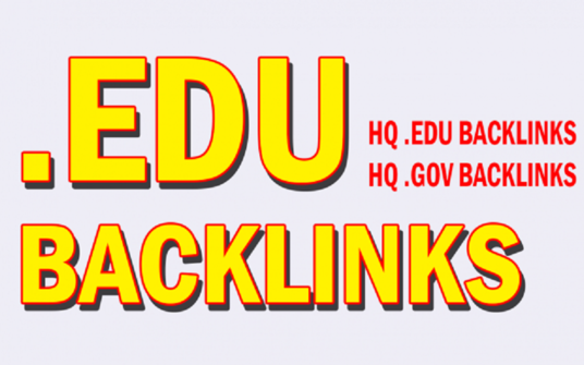 deliver 50 HQ EDU backlinks service