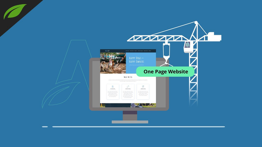 design one page website