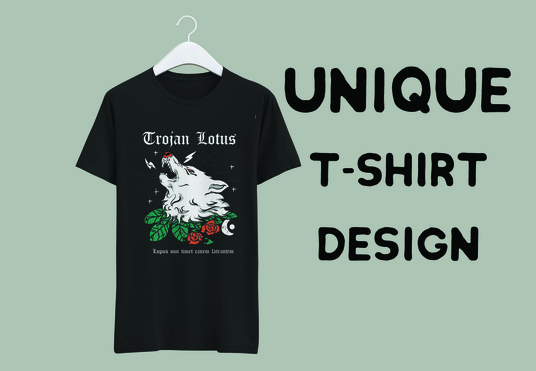 I will design original and exclusive tshirt design for you