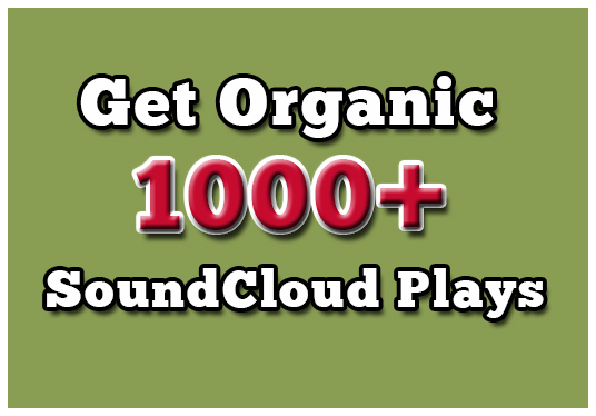 I will give you 1000+ sound cloud music plays