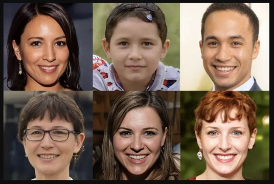 give you 50 computer-generated realistic human faces
