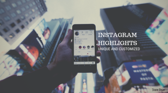 I will customise your Instagram story highlights