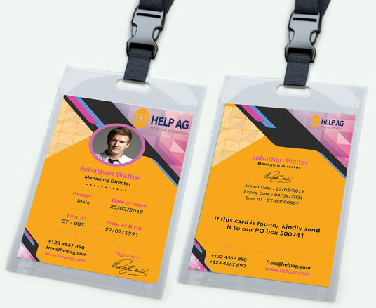 I will create a customized Brand Identity or ID card for your Business