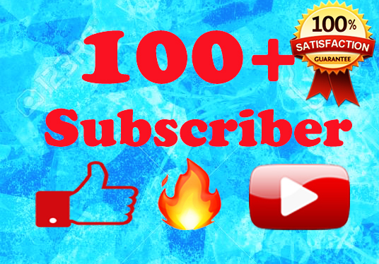 Provide Active 100+ Youtube Subscriber