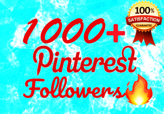 I will Get you 1000+ Pinterest Followers