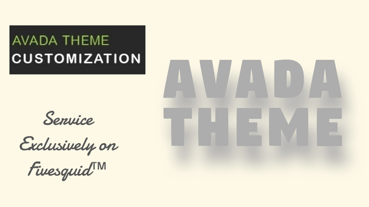 I will Customize your Avada Theme Site like an Expert in 3 days