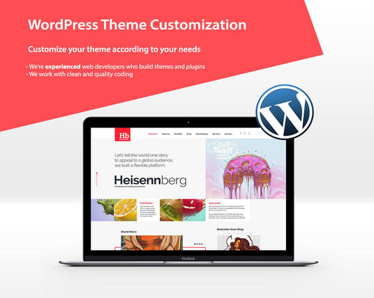 I will do any WordPress theme Customization