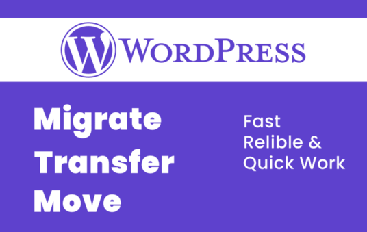 I will safely transfer, migrate, move or clone your WordPress website
