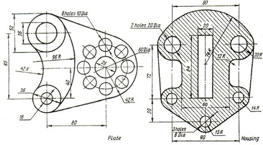 I will Will Provide Patent Drawing, Illustration, Line Drawing Services