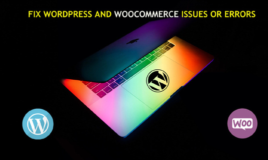 Fix Your WordPress and WooCommerce Website issues or errors