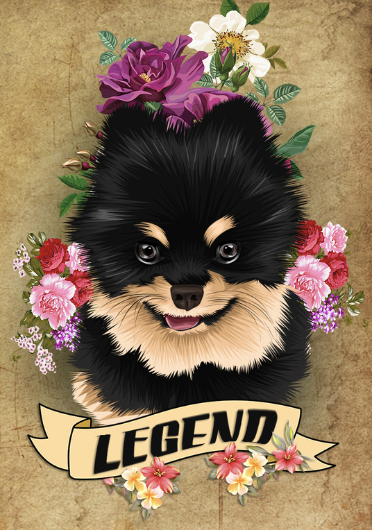 I will Do Vector Illustration Of Your Pet