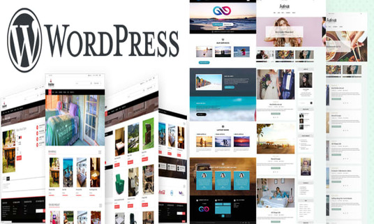 I will Do Wordpress Design Blog Business Ecommerce Website