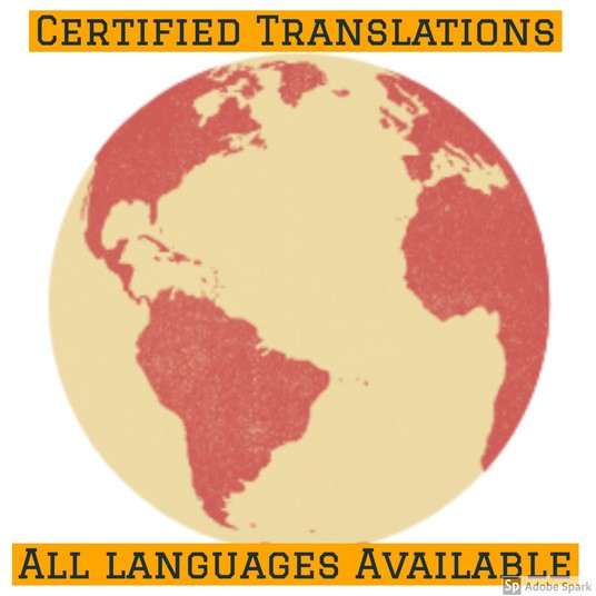 I will do a certified translation from any language for all UK government departments or other in