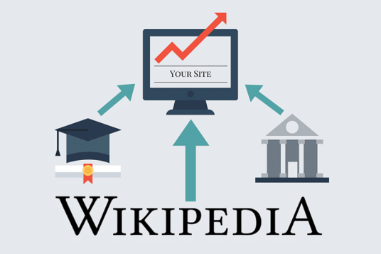 give you 100 backlinks from Wikipedia - DA100, TF100 contextual links