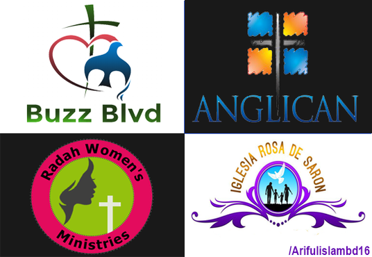 I will Design Creative Ministry Church Logo
